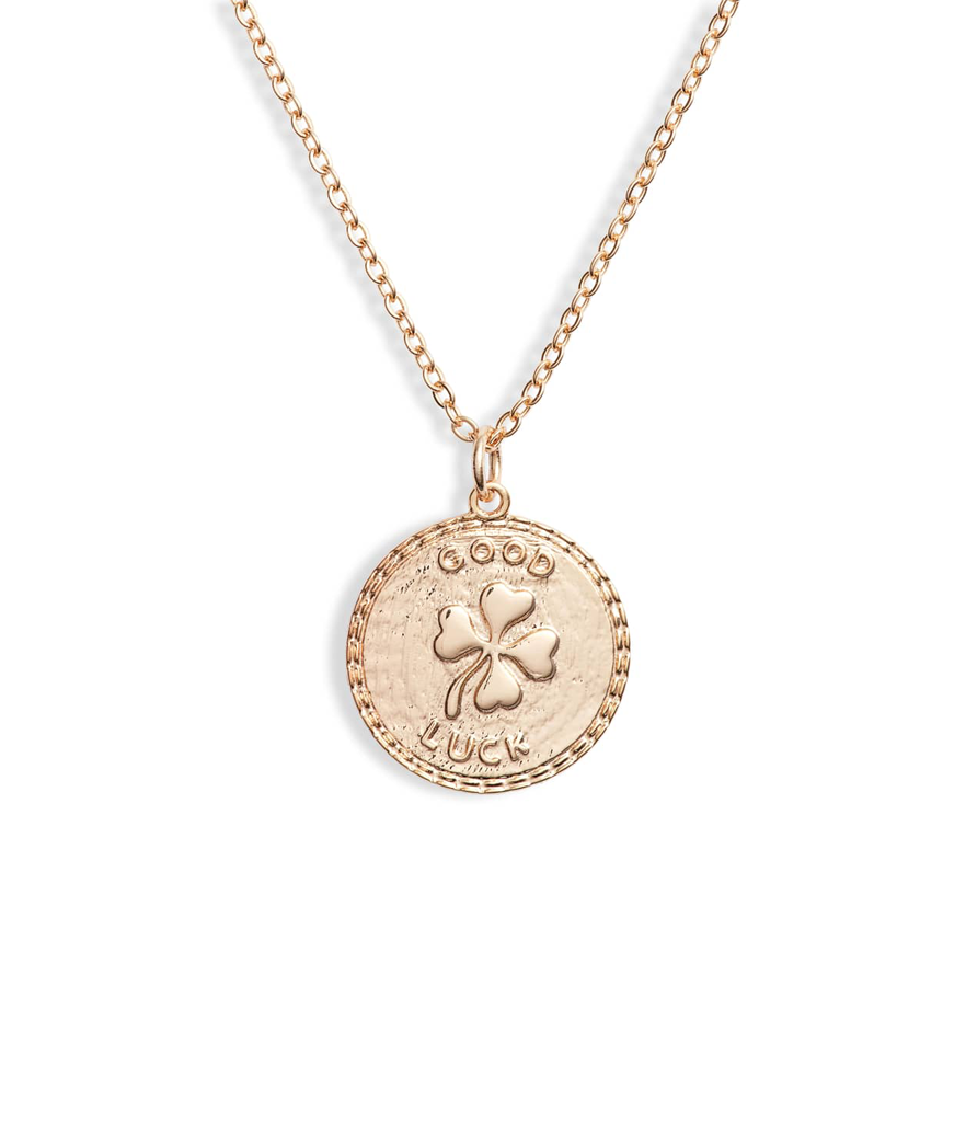 Ten79LA Good Luck Disc Charm Necklace (Photo: Nordstrom)