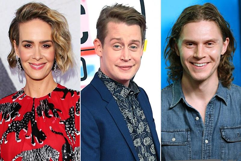 Sarah Paulson, Macaulay Culkin, Evan Peters | JB Lacroix/WireImage; Steve Granitz/WireImage; Rich Polk/Getty