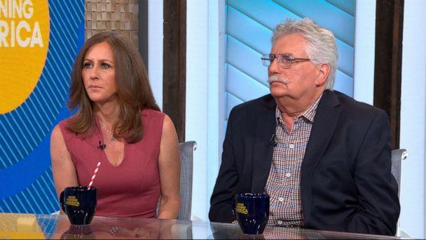PHOTO: Kim Goldman and Fred Goldman appear on 'Good Morning America,' June 12, 2019. (ABC News)