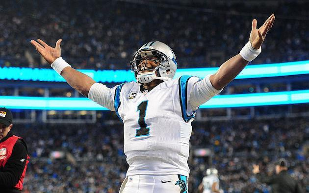 Cam Newton's final QB rank matched his jersey number in '15. (Getty)