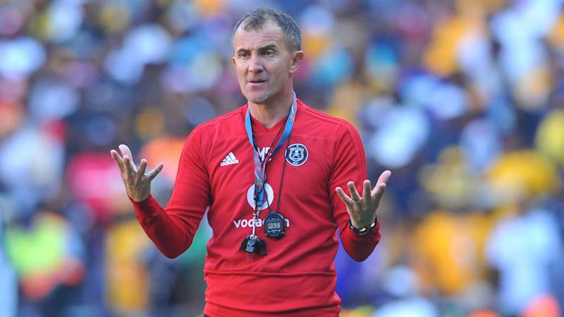 Milutin Sredojevic: Orlando Pirates' only concern is to get to 57 points