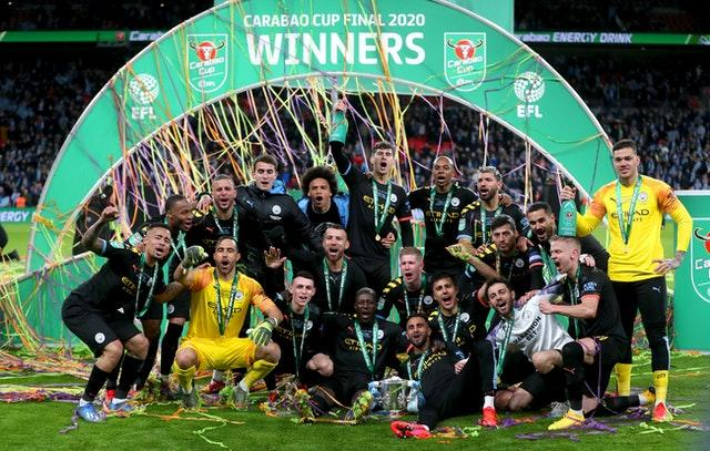Manchester City have won the Carabao Cup for the last three seasons (Mike Egerton/PA)