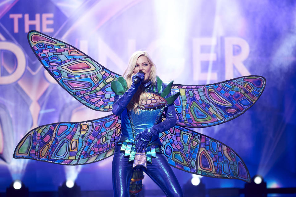 Sophie Monk on The Masked Singer