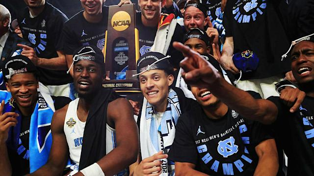 The Tar Heels had barely lifted the trophy when the Vegas odds for the 2017-18 season were released.