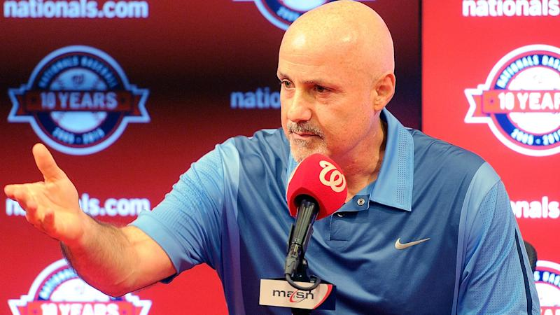 Nationals extend GM Mike Rizzo through 2020