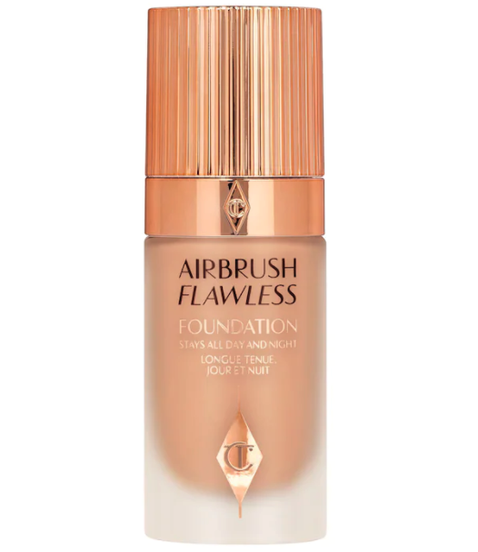 Charlotte Tilbury Airbrush Flawless Longwear Foundation is on sale for 20% off right now. Image via Sephora.