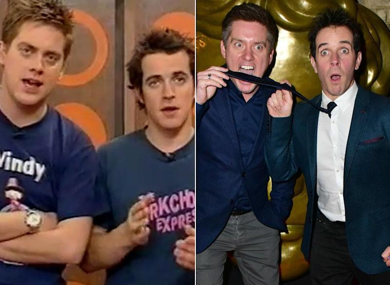 Otherwise known as Richard McCourt and Dominic Wood, Dick and Dom hosted their own Saturday morning show for CBBC, &lsquo;Dick And Dom In Da Bungalow&rsquo;, from 2002 to 2006. They also served as presenters, both solo and as a duo, for the CBBC strand on BBC One. <br /><br />Believe it or not, Dick and Dom are still enthralling the kids of today with their antics, currently starring in their own CBBC sitcom &lsquo;Diddy TV&rsquo;. <br /><br />They&rsquo;ve also hosted their own Radio 1 show from 2006 to 2008, and also starred in the West End revival of &lsquo;Spamalot&rsquo; from December 2012 to January 2013. <br /><br />In 2014, they also won a Children&rsquo;s BAFTA for their series &lsquo;Absolute Genius&rsquo;, which is still airing on the CBBC channel.<br /><br />They currently work as a DJ act, performing at music festivals, students unions and cruise ships.&nbsp;