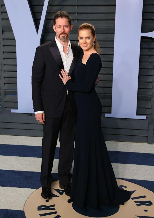 <p>The frequent Oscar nominee posed alongside husband Darren Le Gallo. (Photo: JEAN-BAPTISTE LACROIX/AFP/Getty Images) </p>