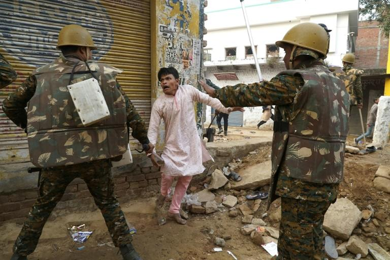 The protests that first started in the northeastern state of Assam have since spread to the rest of the country and heavy-handed police tactics have fuelled anger (AFP Photo/STR)