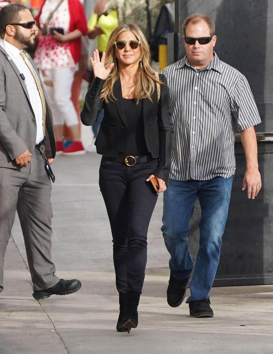 <p>Azubuike told Women's Health that he's constantly rotating Jen's workouts. 'It's always hard, she's consistently being challenged—I'm a big fan of switching things up, so the body reacts in a positive way and changes,' he said.</p>