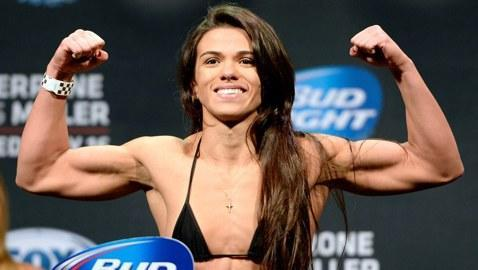 UFC Fight Night 45 Results: Claudia Gadelha Makes History As First UFC Strawweight Winner