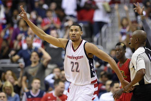 "<a class=""link rapid-noclick-resp"" href=""/nba/players/5154/"" data-ylk=""slk:Otto Porter"">Otto Porter</a> Jr. shot 43.4 percent from 3-point range last season. (AP)"