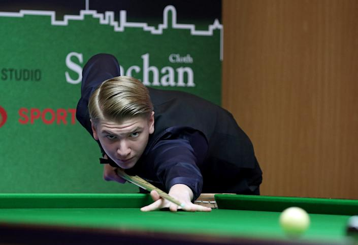 Fourteen-year-old Iulian Boiko will make his tour debut next year (Matt Huart/WPBSA)