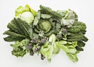 <p>This might sound obvious, but putting fresh, crisp greens into the freezer will yield watery, wilted, and limp leaves. Plus, they'll lose a lot of flavor in the process. Play it safe and relegate them to the crisper drawer in your fridge. </p>