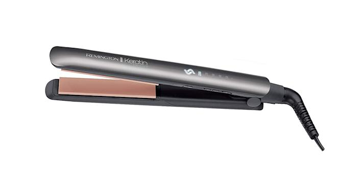 Remington Keratin Protect Intelligent Ceramic Hair Straighteners, Infused with Keratin and Almond Oil