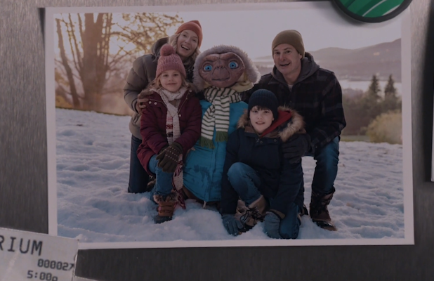E.T. Comes Back to Earth to Meet Grown-Up Elliott in Holiday Commercial (Video)