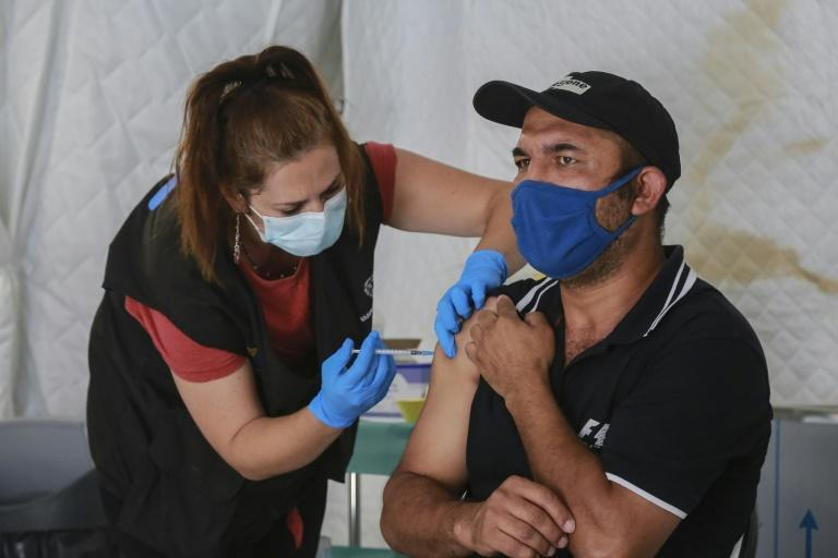 Authorities are hoping the pace of vaccinations will increase in the camp after a hesitant start