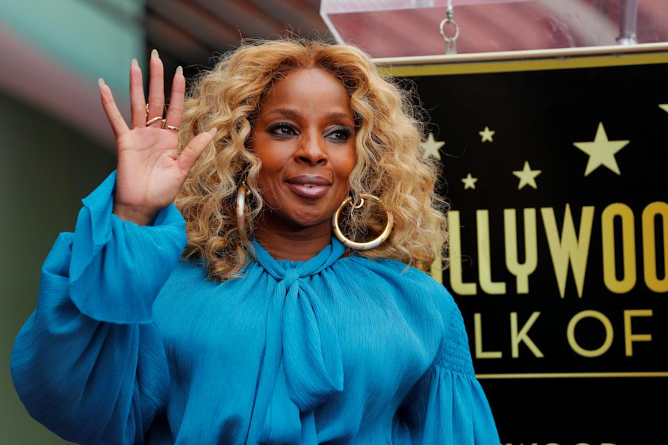 Mary J. Blige opened up to Taraji P. Henson about divorce and mental health. (Photo: REUTERS/Mike Blake)
