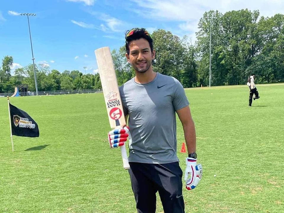 Unmukt Chand hits his first fifty in Minor League Cricket