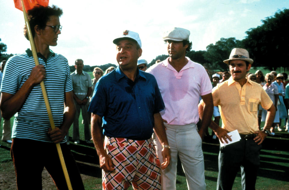 Rodney Dangerfield, Chevy Chase and Brian Doyle-Murray in <em>Caddyshack</em>. (Photo: Orion Pictures/Warner Bros/Courtesy: Everett Collection)