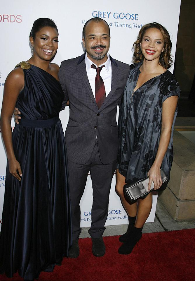 "<a href=""http://movies.yahoo.com/movie/contributor/1800018551"">Gabrielle Union</a>, <a href=""http://movies.yahoo.com/movie/contributor/1800020494"">Jeffrey Wright</a> and guest at the Los Angeles premiere of <a href=""http://movies.yahoo.com/movie/1810003875/info"">Cadillac Records</a> - 11/24/2008"