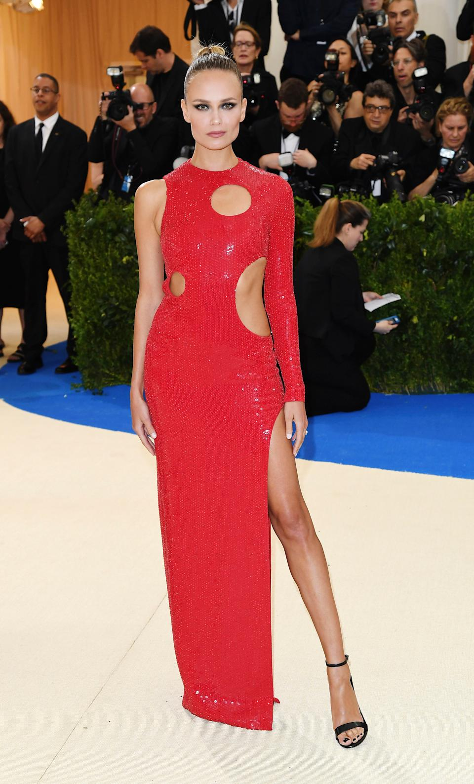"""<h1 class=""""title"""">Natasha Poly in Michael Kors Collection</h1><cite class=""""credit"""">Photo: Getty Images</cite>"""