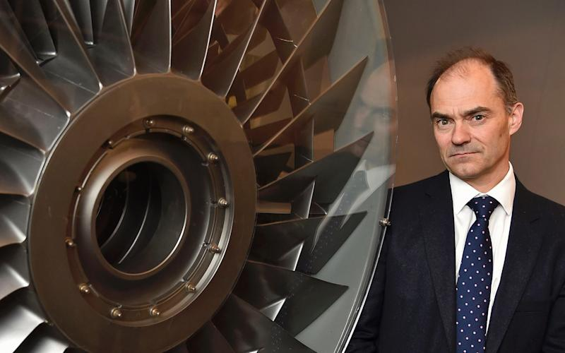 Rolls-Royce chief executive Warren East is pushing the company to move into new business areas - Reuters