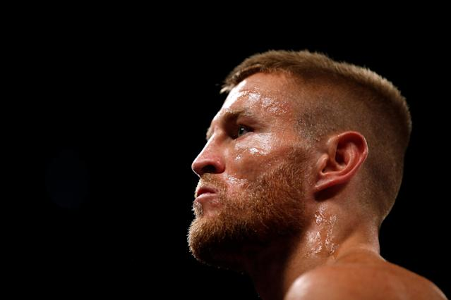 Boxing - Terry Flanagan v Maurice Hooker - WBO World Super-Lightweight Title - Manchester Arena, Manchester, Britain - June 9, 2018 Terry Flanagan before the fight Action Images via Reuters/Andrew Couldridge