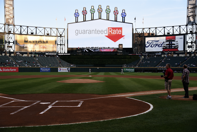The White Sox's stadium has a new name. (Getty Images/David Banks)