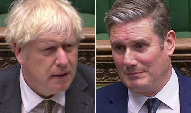 Labour take poll lead over Tories for first time since Boris Johnson became PM
