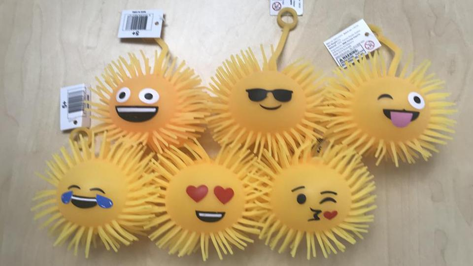 Emoticon Puffer Balls Recalled Best and Less