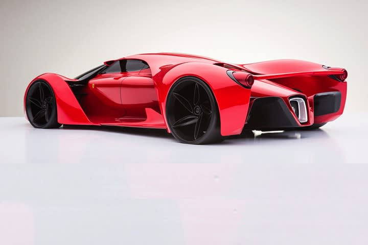 This Is The Hp Ferrari Hypercar Of The Future