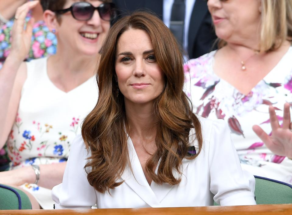 Kate Middleton used Clarins' Lip Perfector at this year's Wimbledon. (Photo: Getty Images)