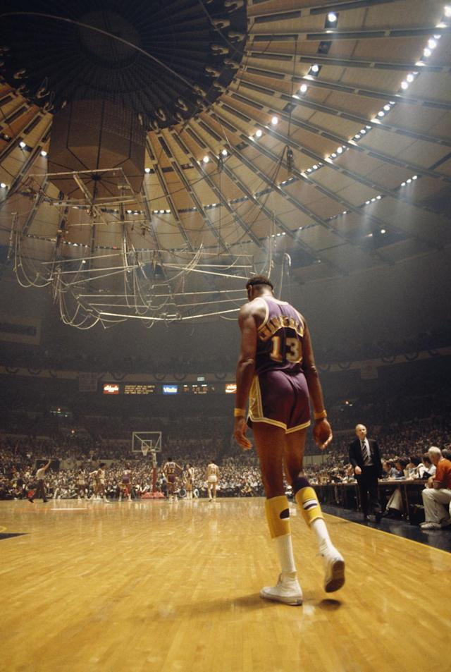 <p>Yeah, getting 100 points in a single basketball game couldn't be easier really could it? Chamberlain scored the tally against the New York Knicks in March 1962 – becoming the only pro ever to do so. </p>