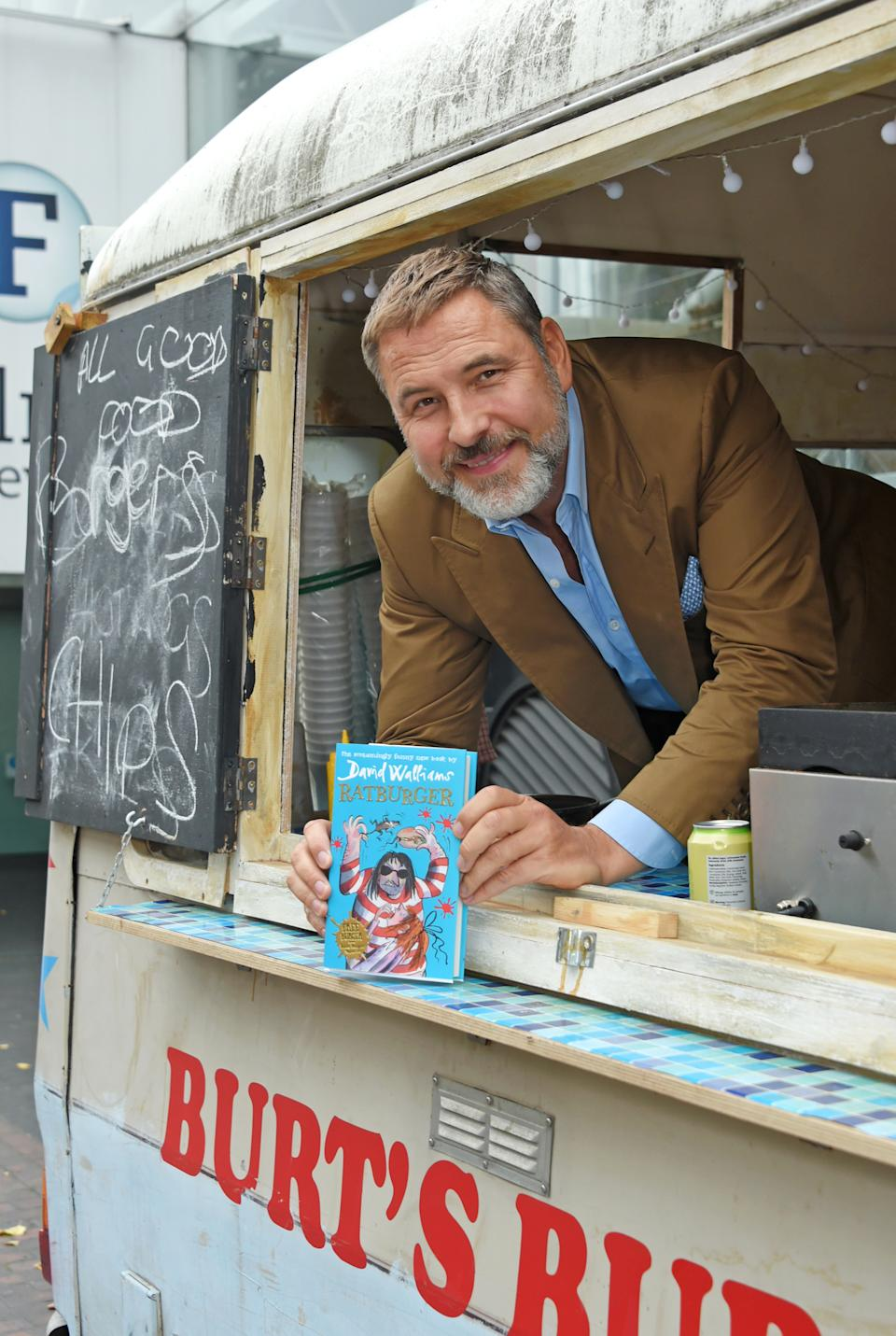 """David Walliams attends a BFI Southbank preview of """"Ratburger"""", Sky 1's TV adaptation of his book published by HarperCollins, on September 3, 2017 in London, United Kingdom.  (Photo by David M. Benett/Dave Benett/Getty Images for BFI )"""