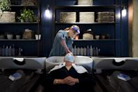 "<p>Although the list of new regulations is certainly not short, you can never be too careful - especially in a close-contact industry. For this reason, both O'Connor and Vaughn's salons have set additional rules in place. O'Connor is opting for disposable capes and towels: ""I feel that any extra measure of adding an element that ensures that something is not being used on multiple people brings peace of mind,"" she told POPSUGAR. </p> <p>At Vaughn's Houston salon, beverage service has been limited to bottled water. ""There was no mention of food or beverage in the state's guidelines, however, with restaurants at minimum capacity, we felt it was best to not serve beverages that are in an open container or to allow food on the salon floor,"" he said. Stylists are also scheduling 20 minutes between each appointment, a length of time that has not been explicitly specified: ""We felt it was best practice to allow the stylist the proper amount of time to thoroughly sanitize their station and all tools."" </p>"