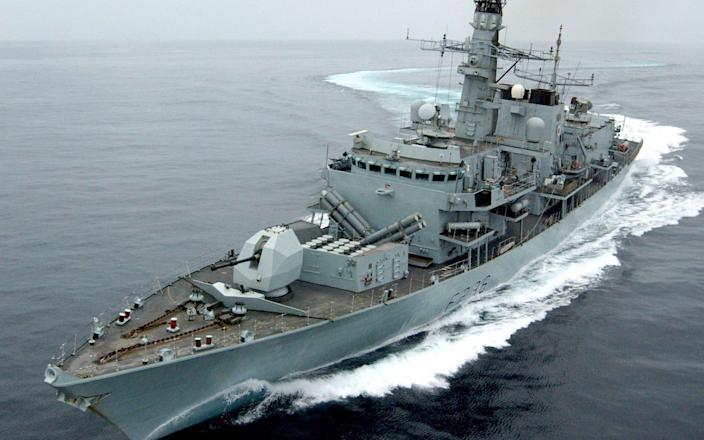 The HMS Montrose is deployed to the Gulf - AFP