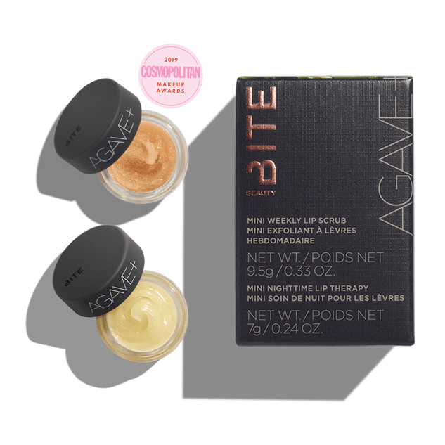"""<h2>Bite Beauty Agave+ Vegan Mini Scrub & Sleep Lip Duo</h2><br>Cool weather can take a toll on everyone's lips, so you can't go wrong with picking up this set from Bite. It has everything your friends and family need to keep their lipstick canvas soft and hydrated.<br><br><strong>Bite Beauty</strong> Agave+ Vegan Mini Scrub & Sleep Lip Duo, $, available at <a href=""""https://go.skimresources.com/?id=30283X879131&url=https%3A%2F%2Fwww.bitebeauty.com%2Fagave--vegan-mini-scrub-and-sleep-lip-duo%2F50015.html"""" rel=""""nofollow noopener"""" target=""""_blank"""" data-ylk=""""slk:Bite Beauty"""" class=""""link rapid-noclick-resp"""">Bite Beauty</a>"""