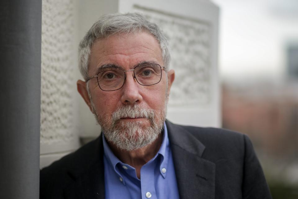 MADRID, SPAIN - FEBRUARY 17: The North American economist Paul Krugman, poses after an interview with Europa Press at the Rafael del Pino Foundation on February 17, 2020 in Madrid, Spain. (Photo by Ricardo Rubio/Europa Press via Getty Images)