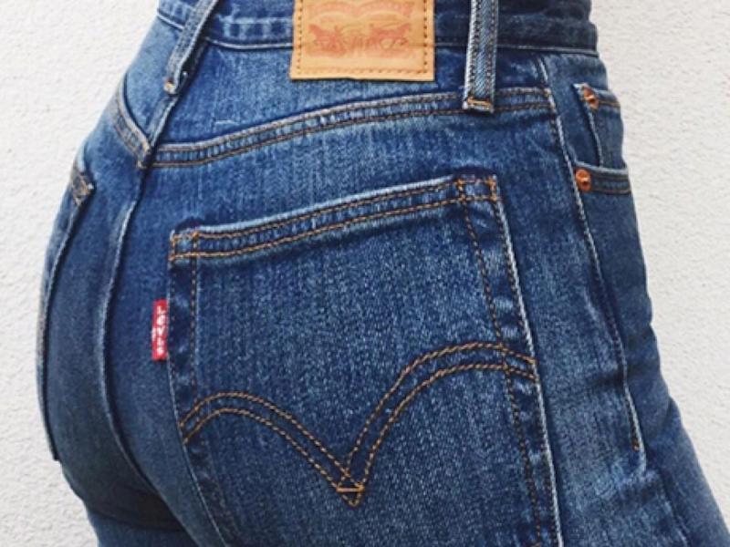 837e05d1 These Levi's Are Made To Make Your Butt Look Amazing