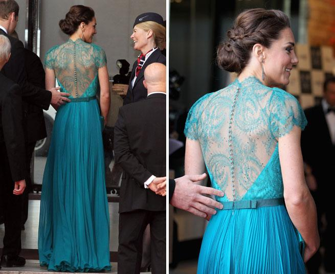 Kate Middleton Wears Jenny Packham and Jimmy Choo at Olympic Concert