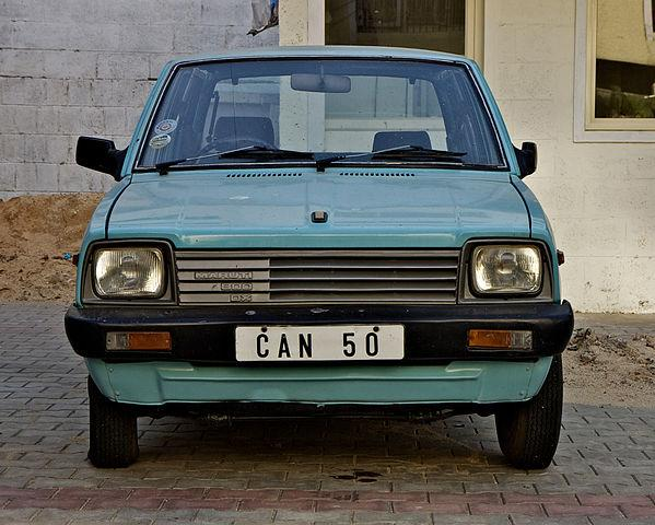 Maruti 800 (Photo: Aashim Tyagi/Wikimedia Commons Under Creative Commons)