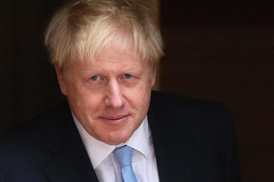 <p>Prime Minister Boris Johnson said experts had confirmed Santa would be arriving this year</p> (PA)