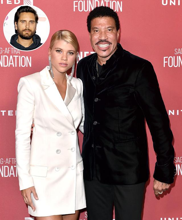 Lionel Richie and Sofia Richie. (Photo: Getty Images)