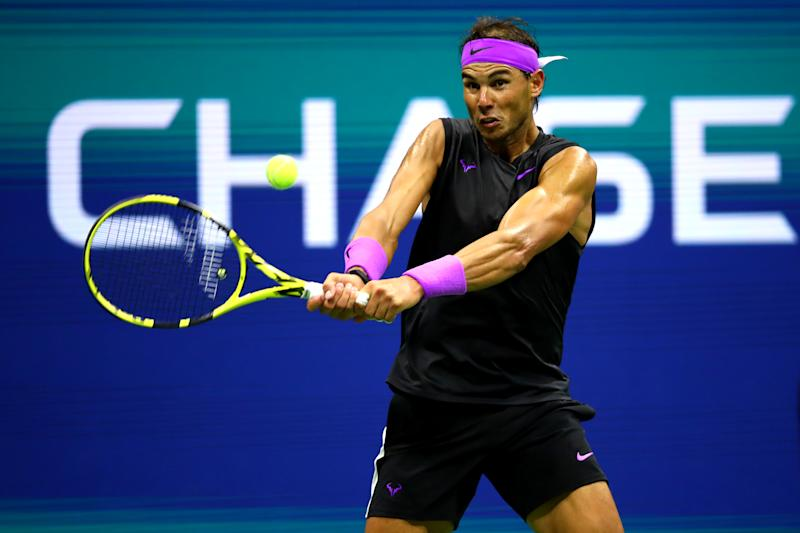 Rafael Nadal cruised past John Millman in his opening round match at the US Open on Tuesday.