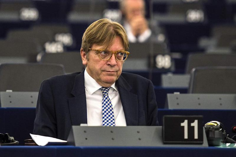 Guy Verhofstadt also made a hell jibe (AFP/Getty Images)