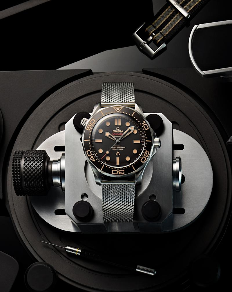 The New Omega Seamaster Diver 300M 007 James Bond Watch