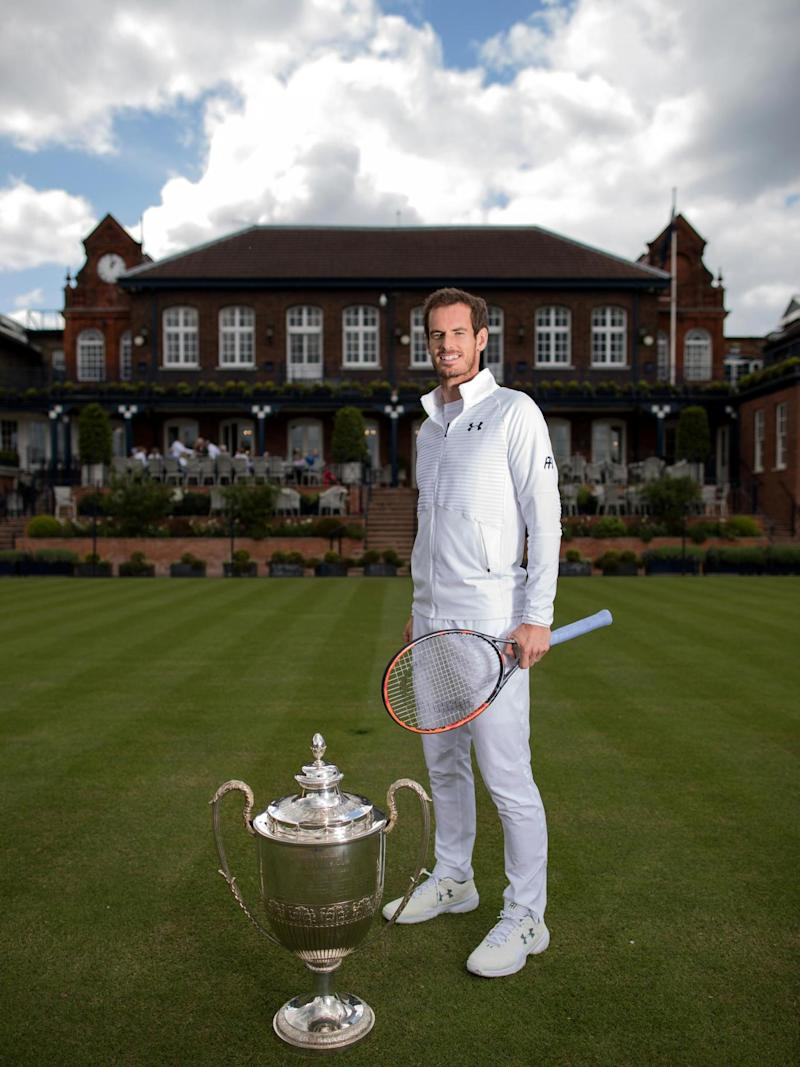 Murray is the defending champion at Queen's (Getty)