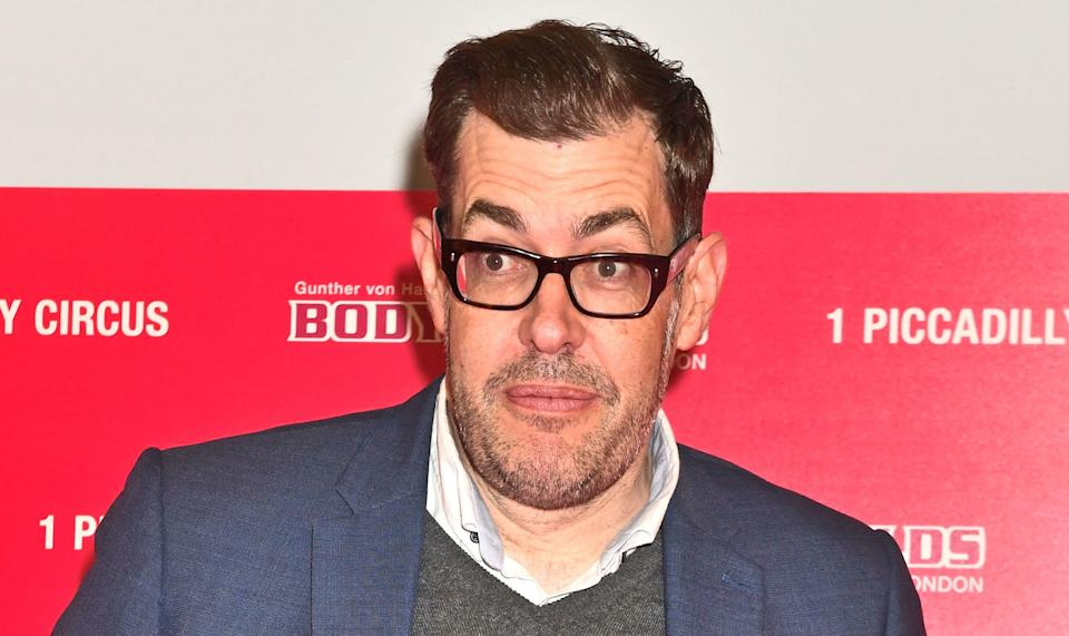 Richard Osman agreed the word should not have been broadcast in the daytime show. (Getty)