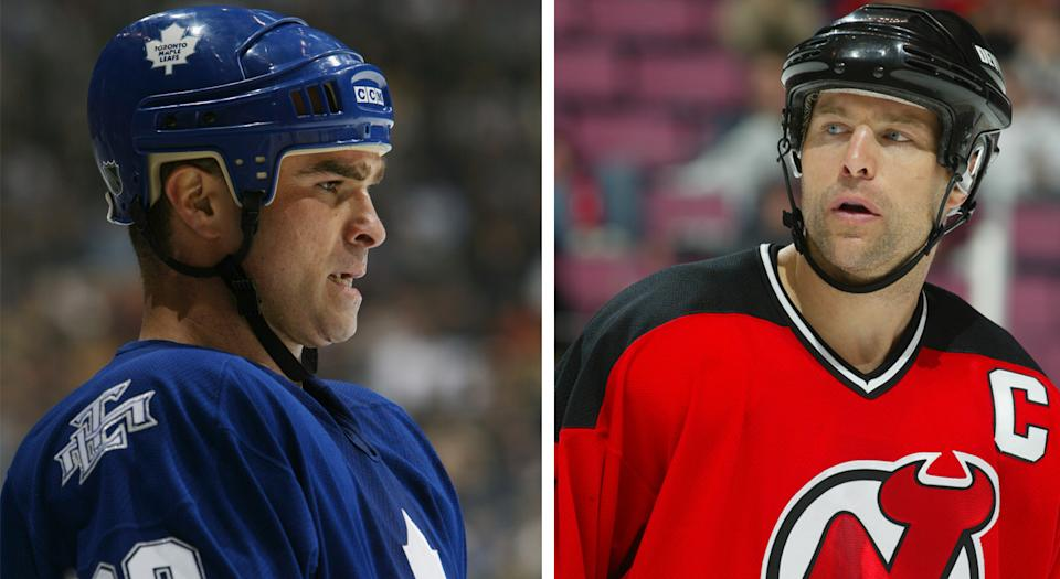 Tie Domi doesn't think very highly of Scott Stevens as a hockey player. (Getty Images)